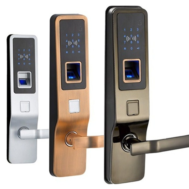 L02 RFID Fingerprint Door Lock