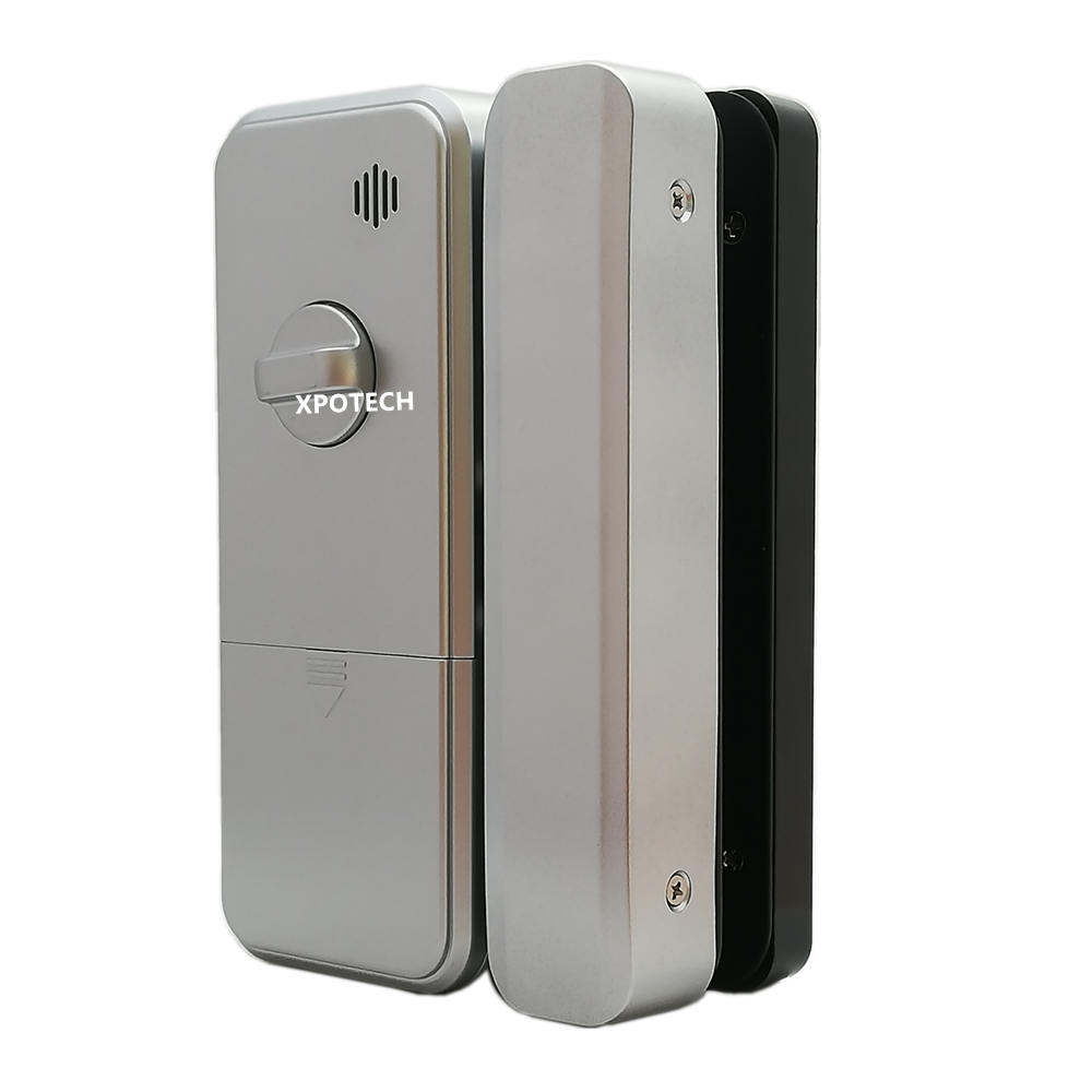 GL400 Fingerprint Glass Door Lock