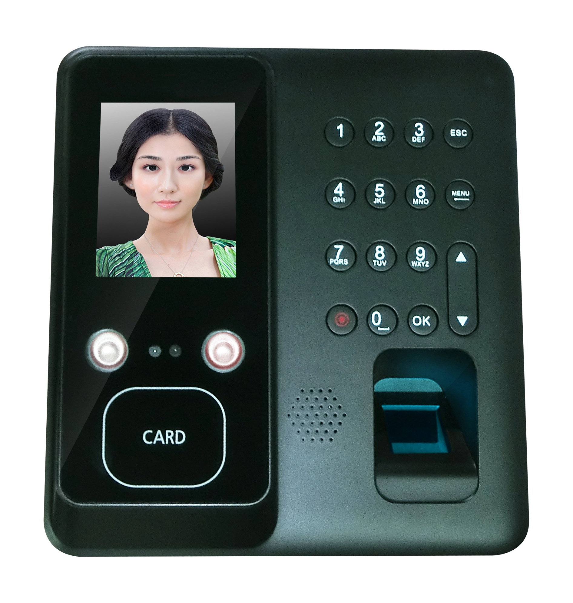 Face610 Face Fingerprint Card Time Attendance